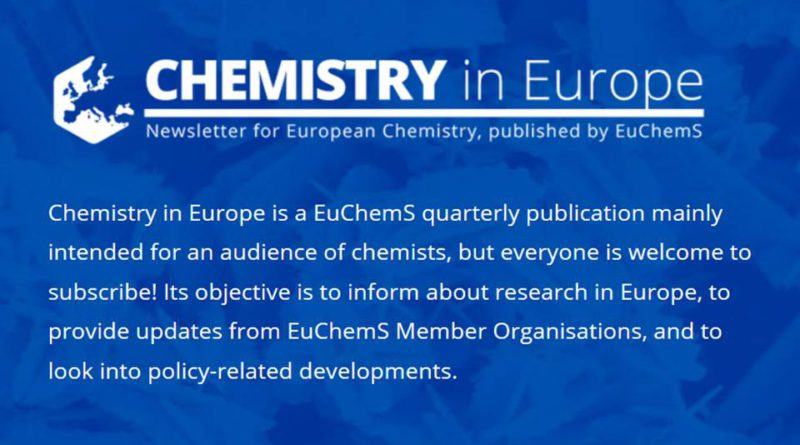 Chemistry in Europe Newsletter – číslo 3 / 2018