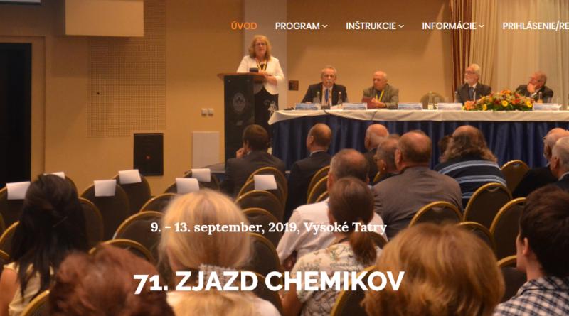 71. zjazd chemikov